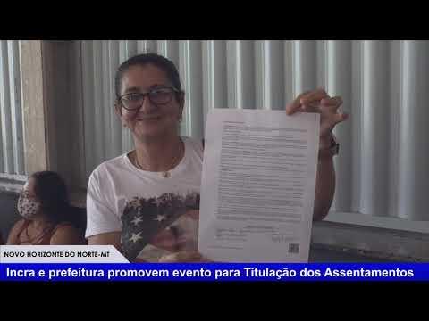 Assinaturas do Títulos de Domínio dos Assentamentos