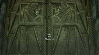 SKYRIM eps 220b  Door With No Key