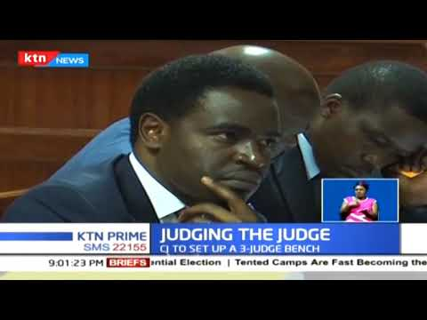 High court has referred the case against DCJ Philomena Mwilu to CJ David Maraga