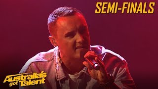D-Minor's HEARTFELT Lyrics CAPTIVATES the Audience | Semi Final | Australia's Got Talent 2019