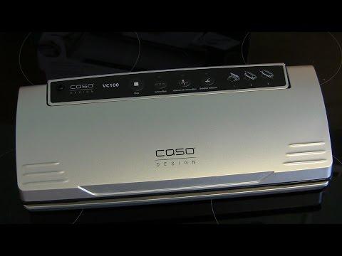 Vakuumierer CASO VC 100 im Praxistest-Vakuumiergerät Caso VC 100 im Test