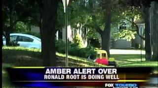 preview picture of video 'Amber Alert Over: Ronald Root found safe in Metro Detroit'