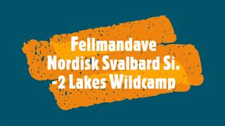Nordisk Svalbard Si tent   -2 Wild Camp lakes