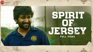 Spirit Of Jersey - Full Video | Jersey | Nani, Shraddha Srinath | Anirudh Ravichander