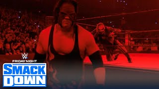 The Fiend attempts to ambush Kane upon return, thwarted by Daniel Bryan   FRIDAY NIGHT SMACKDOWN
