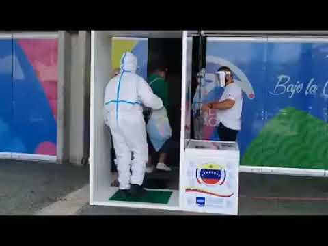 Poliedro de Caracas convertido en Hospital Intermedio para atender pacientes de Covid-19