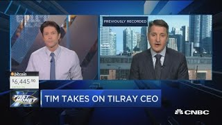 Tilray CEO says there could be a $100 billion pot stock coming