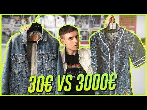 Giacca Jeans 30€ VS Giacca Jeans da 3000€ - QUAL È MEGLIO?