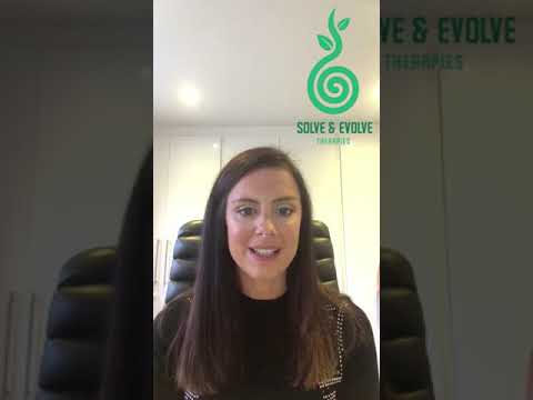 Solve and Evolve Therapies: An introduction to Sarah Elliott