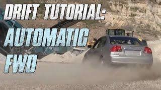ℹ️ How To Drift: Automatic Front-Wheel Drive Car (Scandinavian Flick & Handbrake)