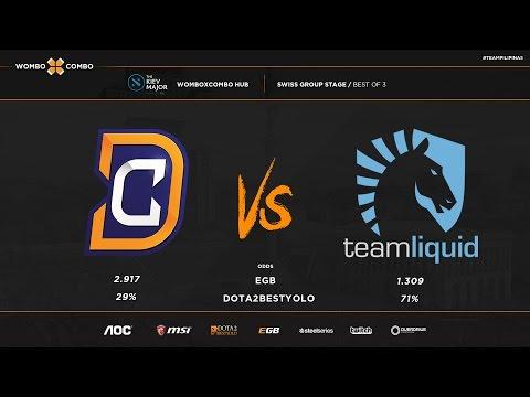 DC vs  Team Liquid Kiev major Game 1