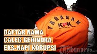 Berikut Daftar Nama dan Dapil Celeg Gerindra yang Disebut Jokowi Mantan Napi Korupsi