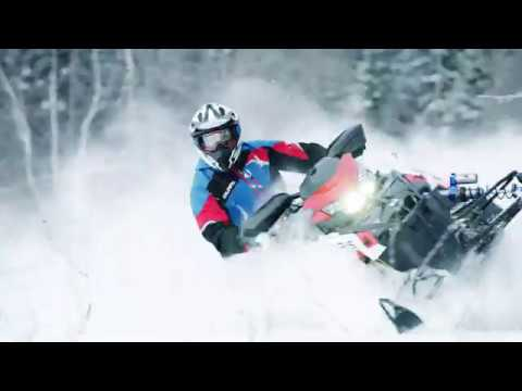 2021 Polaris 600 Switchback Assault 144 Factory Choice in Healy, Alaska - Video 1