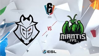 Six Invitational 2019 – G2 Esports vs. mantis FPS