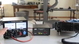 MFJ 4403 Voltage Conditioner Operation