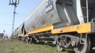 preview picture of video 'Tren granero de NCA pasando por Las Junturas'