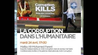 La Corruption Dans Laide Humanitaire Conférence Bioforce Avril 2018