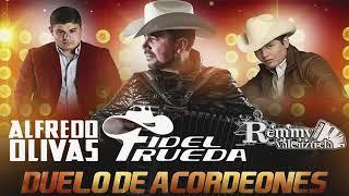 Fidel Rueda, Alfredo Olivas, Remmy Valenzuela