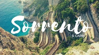 Visiting Capri Island and Pompeii, the best ancient Roman Ruins in Italy || SORRENTO TRAVEL VLOG