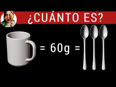 ¿Cuánto es una taza de harina en GRAMOS? Tabla de equivalencias: tazas, cucharas y gramos.