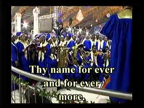 RCCG Mass Choir Ministration for Friday of the RCCG 63rd Annual Convention #TheAllSufficientGod