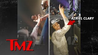 R. Kelly's Alleged Sex Slaves Front Row And Cheering At 2016 Concert | TMZ