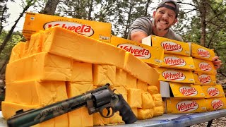 Can Velveeta Cheese Stop a  Bullet?