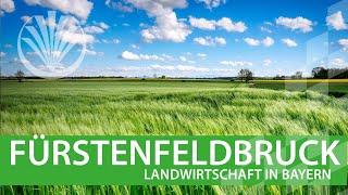 preview picture of video 'Landwirtschaft in Bayern: Landkreis Fürstenfeldbruck in Oberbayern'