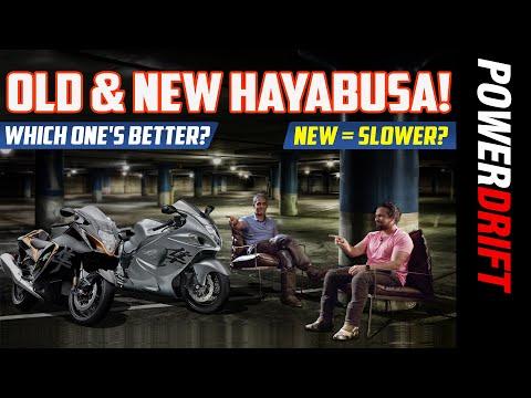 Old Suzuki Hayabusa vs New Hayabusa | Detailed comparison! | PowerDrift