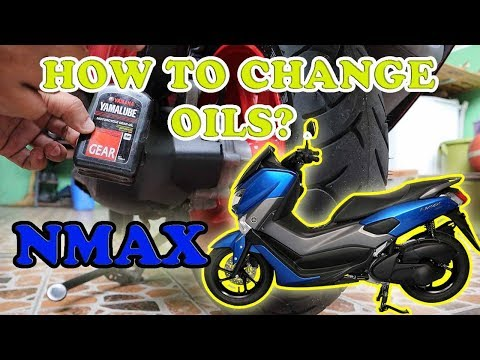 HOW TO CHANGE OIL YAMAHA NMAX? Engine Oil / Gear Oil