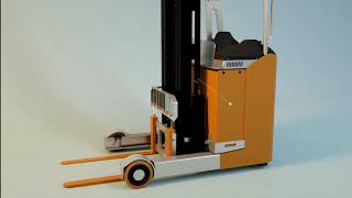 3D Electric Reach Truck FRB20 - Material Handling Equipment Manufacturer