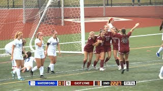 Girls' soccer highlights: East Lyme 5, Waterford 1