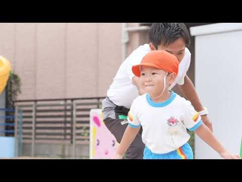 江北さくら幼稚園 (2)年少・体操の様子