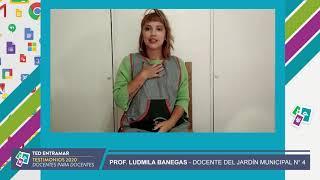 Ludmila Banegas, Jardín Municipal N° 4