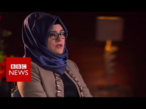 Jamal Khashoggi's fiancee on his murder  - BBC News