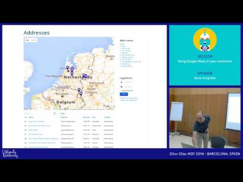 JAB16 - Using Google Maps in your extension
