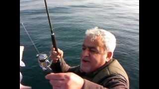 Kıyı Balıkçısı Necmi Fidan Enez de Mercan balığı avı.(Sparus Pagrus)