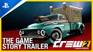 PlayStation The Crew 2 - The Game Story Trailer   PS4 anuncio