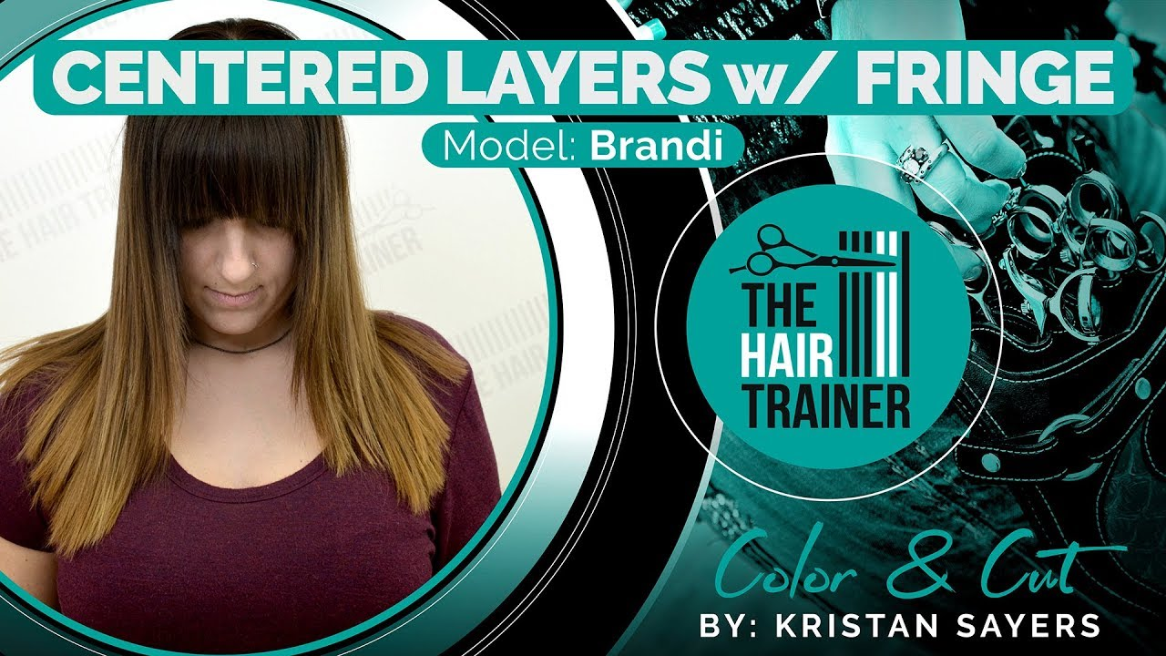 Brandi - Centered Layers with Fringe Cut