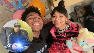 SURPRISED MY CRUSH FOR HER BIRTHDAY! + MET HER DAD (He Doesn