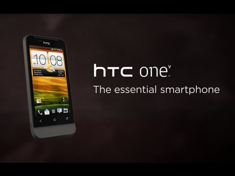 Youtube Video HTC One V black obsidian