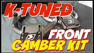 K-Tuned Front Camber Kit Civic 92-00 & Integra 94-01 UNBOXING!!