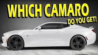 What Camaro Is Right For You? - Drive With Lethal | S1: EP18