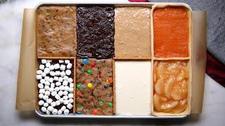8 Desserts in 1 Sheet Tray