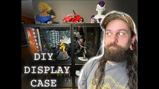 DIY statue and collectibles display case! Vol.1 Quick and cheap!
