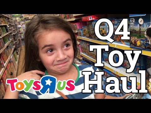 Toys R Us - Q4 Toy Haul ft Luna - Buying Toys to sell on Amazon FBA - Retail Arbitrage