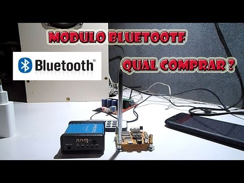 Modulo Bluetooth Diy audio