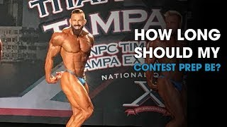 How Long Should my Contest Prep be?