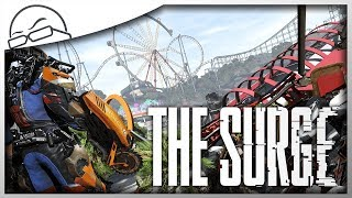 Donutheads and Rollercoasters - The Surge: A Walk in the Park DLC [Ep 1] - Let's Play / Gameplay