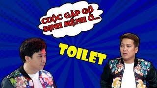 """Đừng bao giờ """"CHUNG ĐỤNG"""" nhà vệ sinh với Trấn Thành, Trường Giang bởi vì cái kết rất ĐẮNG !!!   SML"""